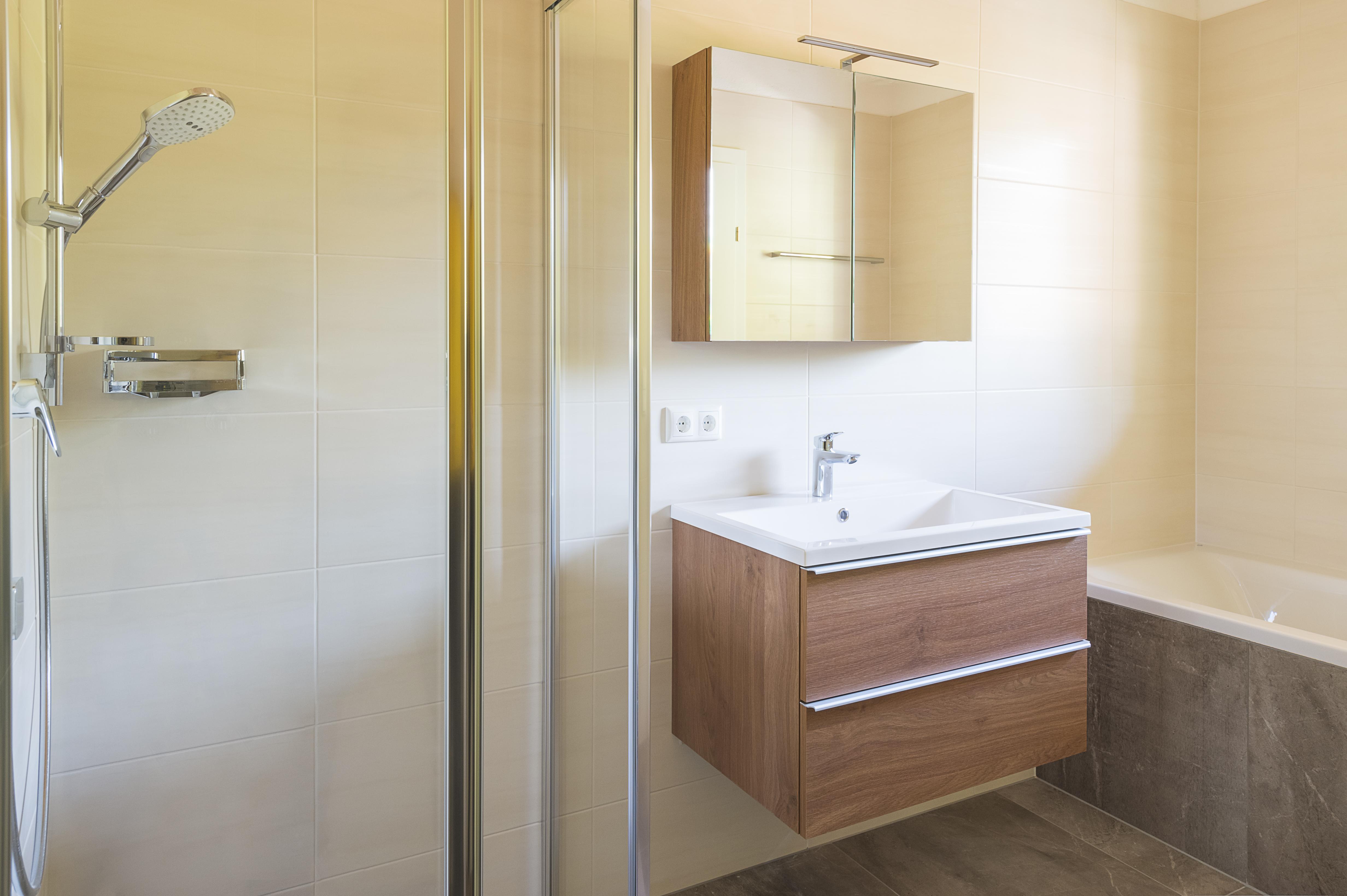 Foto Badezimmer Bauprojekt IMMKA IV - exemplarische Veranschaulichung der Ausführung