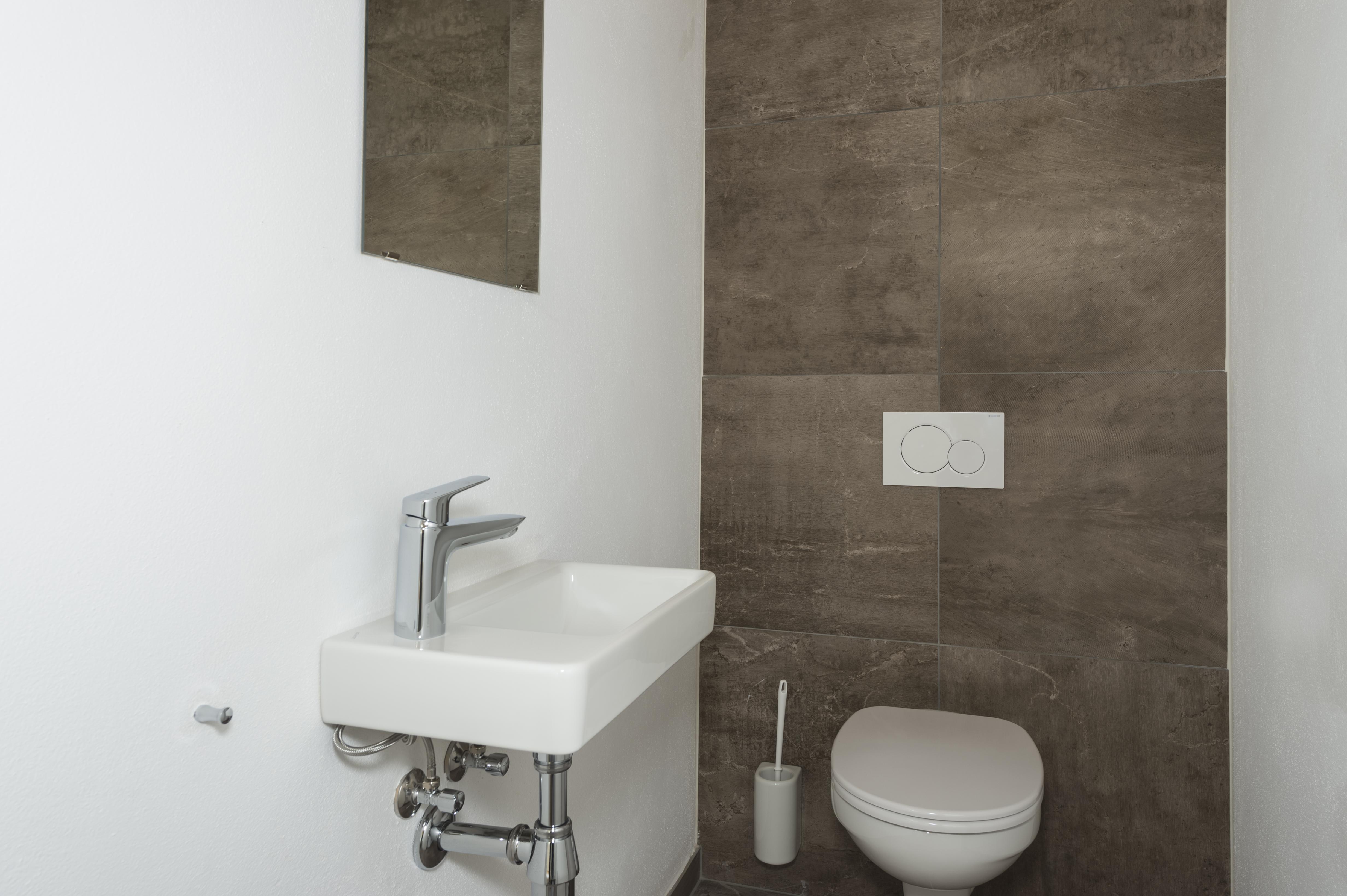 Foto WC Bauprojekt IMMKA IV - exemplarische Veranschaulichung der Ausführung